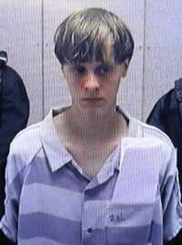 Picture of Dylann Roof at Bond Hearing