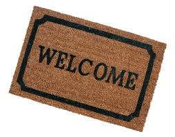 Picture of a Welcome Mat