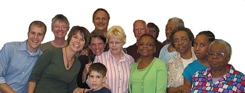 Picture of Oviedo Presbyterian Church members